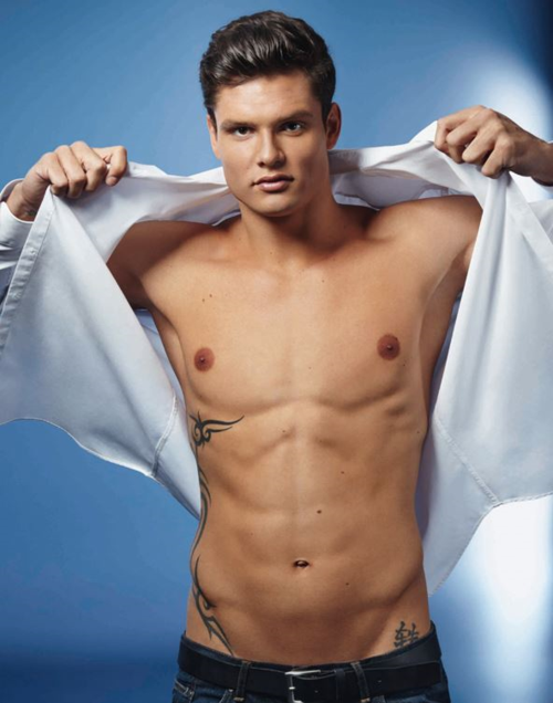 Sexy Male Olympians - Florent Manaudou