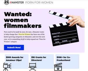 XHamster porn for women competition page